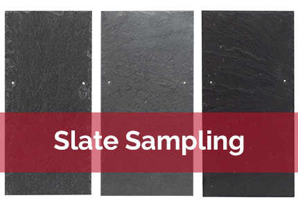 roof slate samples